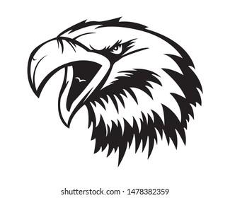 Eagle Stencil Images, Stock Photos & Vectors | Shutterstock