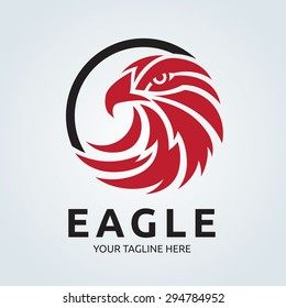 Eagle Vector Logo Template