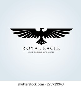 Eagle Vector Logo Template