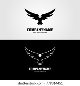 Eagle Wings Logo - Bird Fly Vector