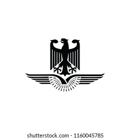 Eagle Wings Logo Vector