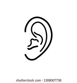 ear icon template