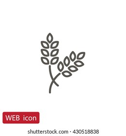 Ear of wheat icon