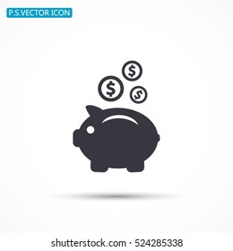 earnings .Vector icon 10 EPS