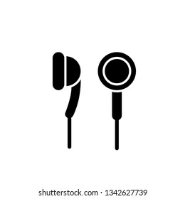 earphone icon template