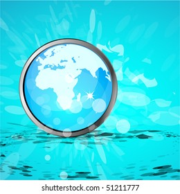 Earth business background