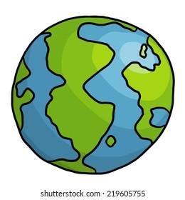 cartoon earth images  stock photos   vectors shutterstock globe png vector art globe vector artwork