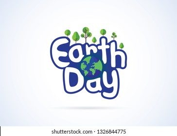 Earth Day Concept, Earth Day Mnemonic