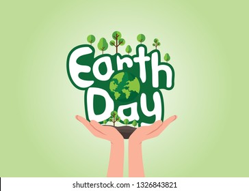 Earth Day Mnemonic, Earth Day Concept