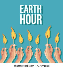 Earth hour design - Shutterstock ID 797591818