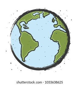 earth illustration cartoon
