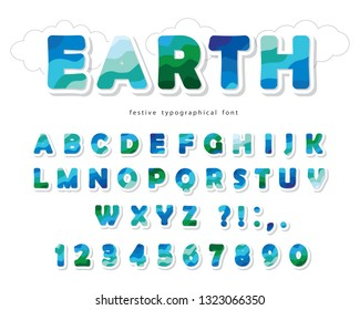 Font Earth Images Stock Photos Vectors Shutterstock