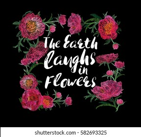 quote flower images stock photos vectors shutterstock