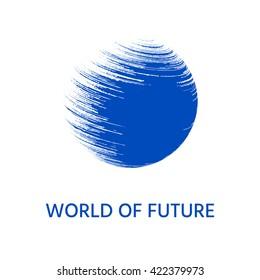 Earth logo.