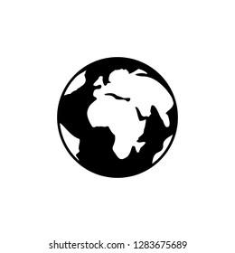 Earth web icon