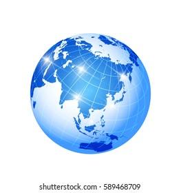 Earth World Sea Icon