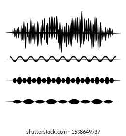 Earthquake. Richter earthquake magnitude scale. Vector illustration. EPS 10
