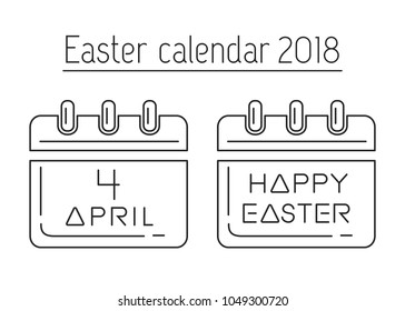 easter calendar catholic easter 2018 calendar with a festive date april 4