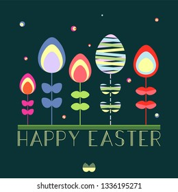 Easter Card vector graphic