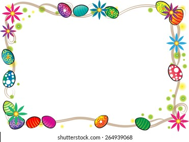 Easter Day border