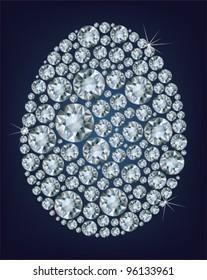 Easter diamond egg