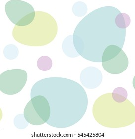 Easter eggs. Vector background.