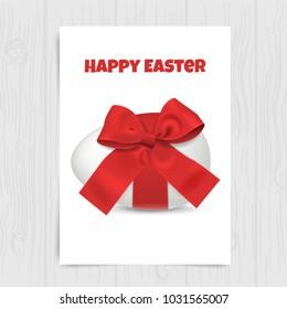 Easter eggs vector design, realistic festive concept