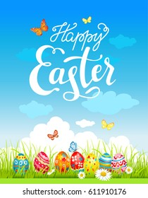 Easter holiday poster
