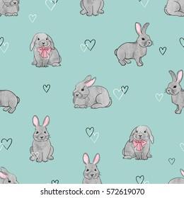 Imágenes Fotos De Stock Y Vectores Sobre Bunny Wallpaper