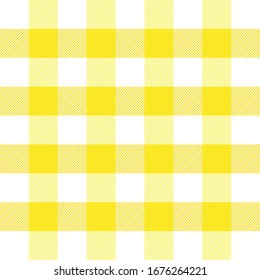 Easter Tartan plaid. Scottish pattern in yellow, violet and green cage. Scottish cage. Traditional Scottish checkered background. fabric texture. Vector illustration