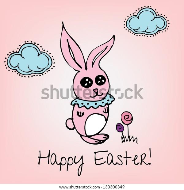 Easter Vector Card