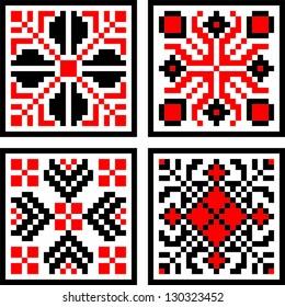 Eastern European Folk Motif Pattern