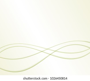 Easy elegant business background with curved lines.Vector illustration. Space for text.