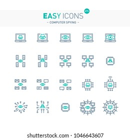 Easy icons 47e Computer spying
