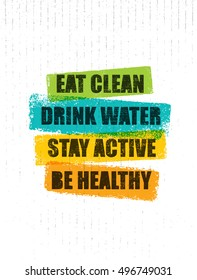 Healthy Quotes Stock Vectors, Images & Vector Art | Shutterstock