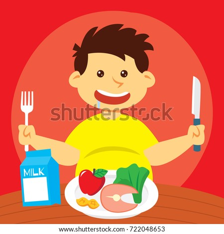 Healthy Foods For Kids Clipart