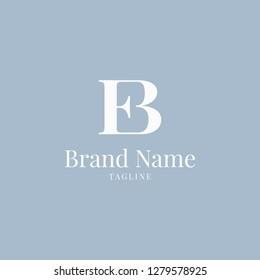 EB logo elegance skyblue