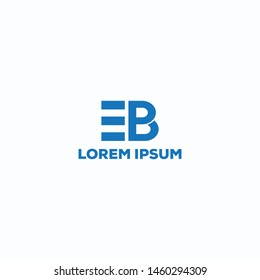 EB/EBP/Latter logo design for use any business purpose