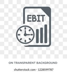 Ebit icon. Ebit design concept from Ebit collection. Simple element vector illustration on transparent background.