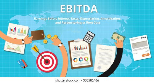 ebitda earnings before interest, taxes, depreciation, amortization, and restructuring or rent cost