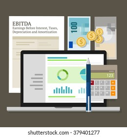 EBITDA Earnings Before Interest, Taxes, Depreciation and Amortization