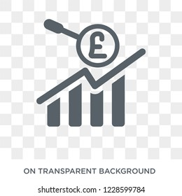 Ebitda icon. Ebitda design concept from Ebitda collection. Simple element vector illustration on transparent background.