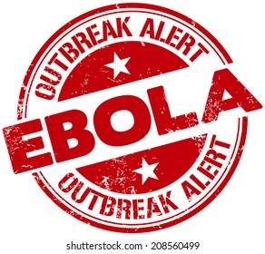 ebola alert stamp