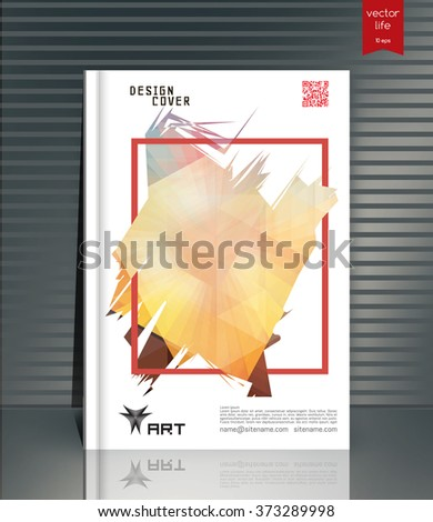 ebook cover layout ebook cover design stock vector royalty free