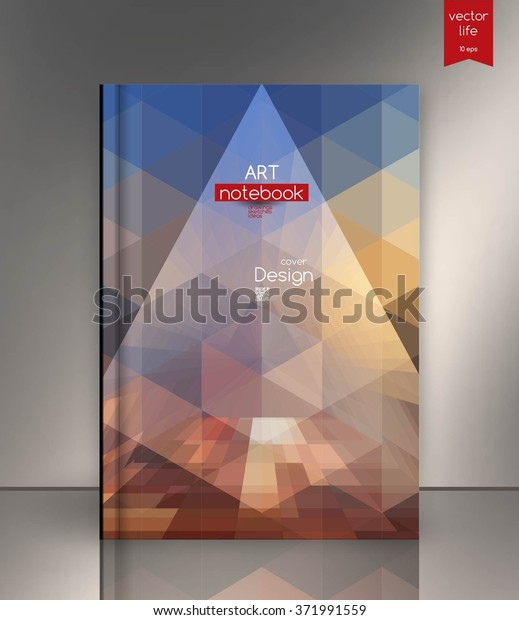 Ebook Cover Layout Ebook Cover Design Stock Vector Royalty Free 371991559