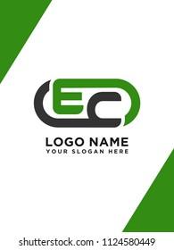 EC initial logo template vexctor
