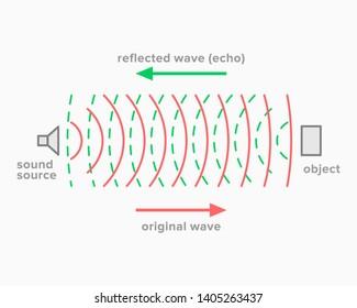 Echo, acoustic phenomenon of sound reflection