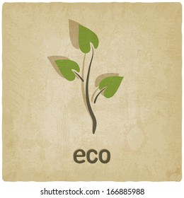 eco background - vector illustration