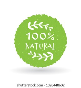 Eco food, organic bio products, eco friendly, vegan icons, ecology. Vector logo design template