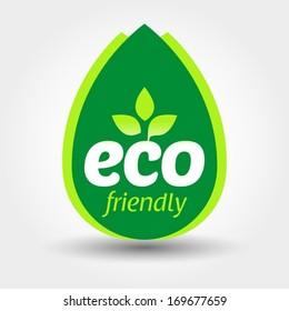 Eco friendly label